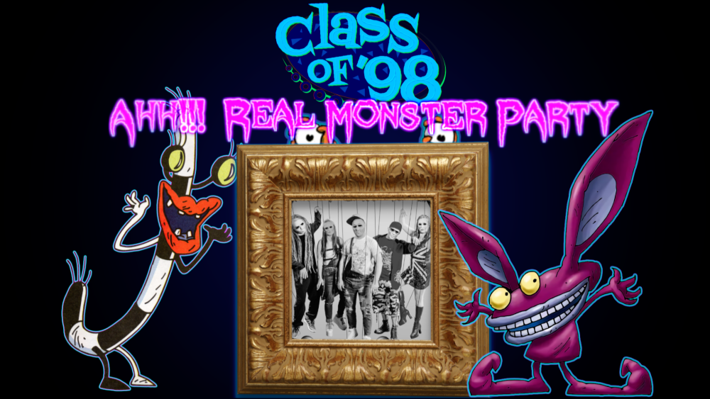 Class Of '98 : The 90's Party PaloozA presents Ahh!!! Real Monster Halloween Party